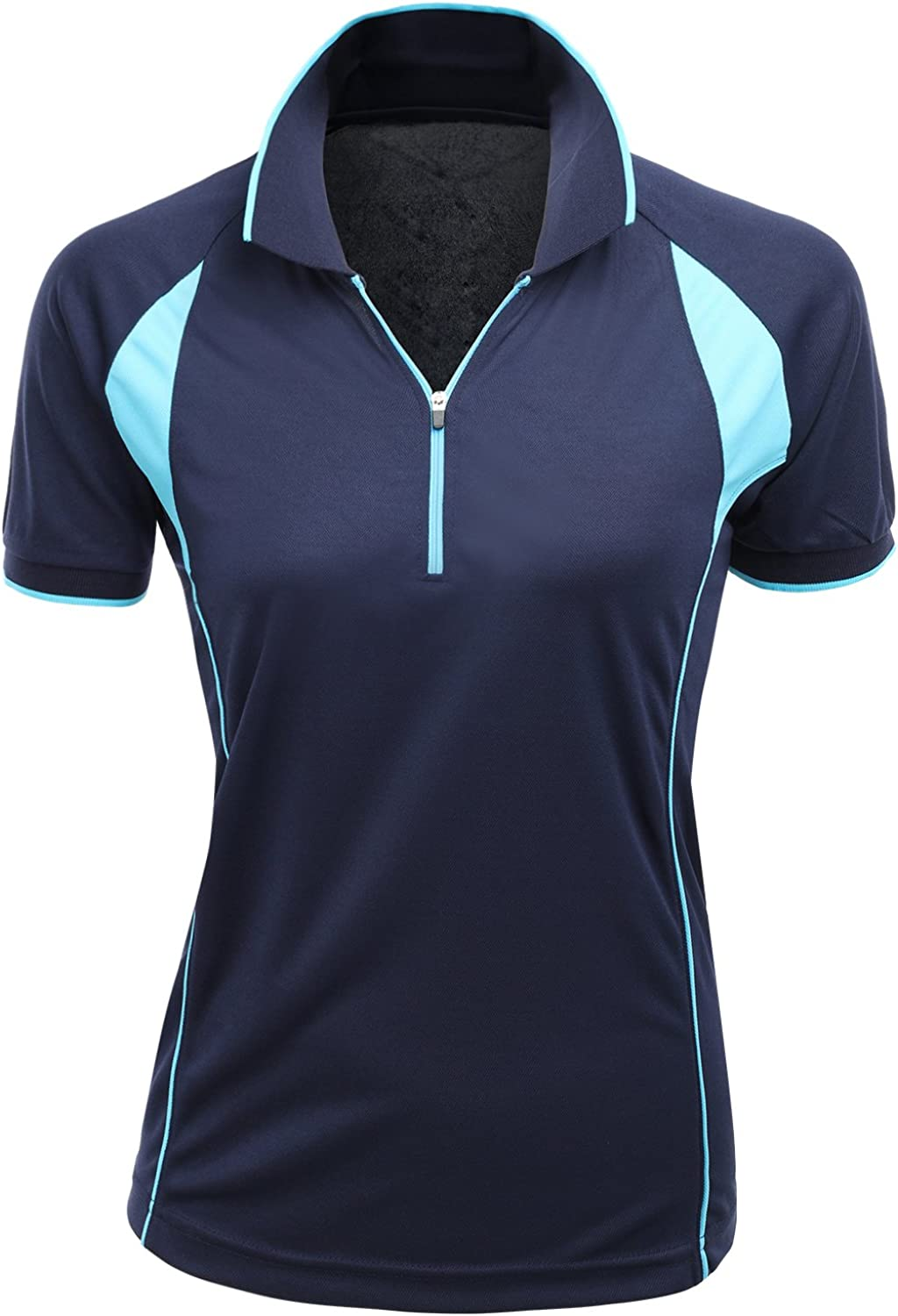 Xpril Women's Coolmax Cash special price Fabric Sporty Short Sleeve Feel Functional Fees free
