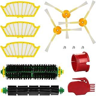 energup Kit de Repuestos para Roomba Serie 500 505 520 510 530 531 535 545 550 552 575 580 595 Accesorios de Aspiradora