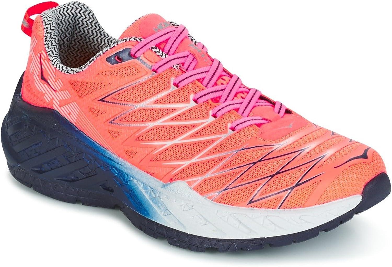 Hoka Hoka Hoka One Kvinnlig Clayton 2 Speed skor Neon Coral  många överraskningar