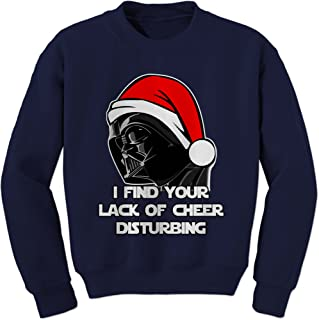 I Find Your Lack of Cheer Disturbing Crewneck Sweatshirt