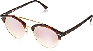 290064cc3 Ray-Ban Clubround Double Bridge RB4346 - Espelhado - Tartaruga/Dourado - 90/