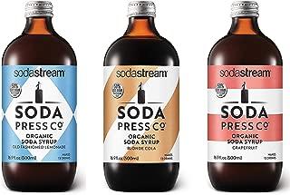SodaStream Soda Press Classic Variety Pack, 16.9 Fl Oz