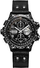 Hamilton Khaki Aviation X-Wind Automatic Mens Chronograph Leather Watch H77736733