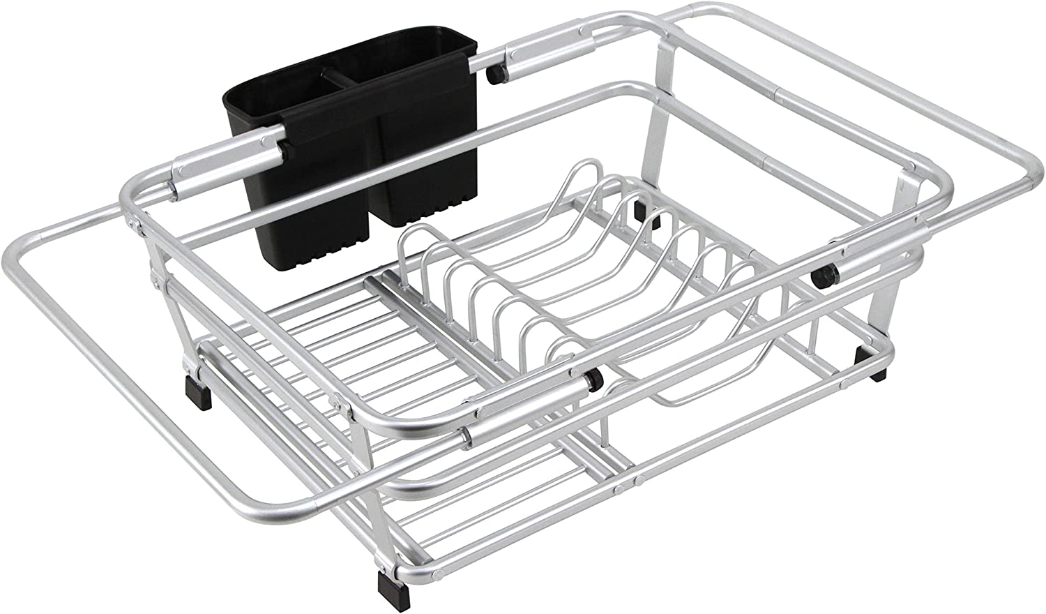 CozyBlock Expandable Popularity Aluminum Dish Drying Industry No. 1 Hold with Rack Utensil