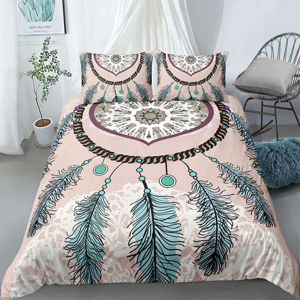 Boys Duvet Covers King Denver Mall Dream Catcher - Colored Beds Sup Online limited product Feathers