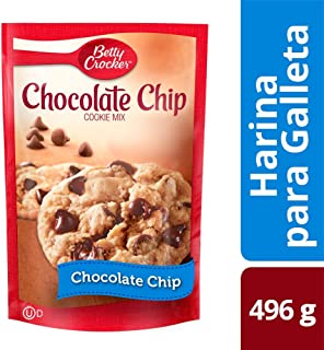 Betty Crocker Chip Cookie Mix, Chocolate, 496 g