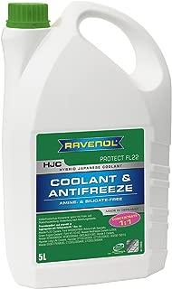 RAVENOL J4D2092 Coolant Antifreeze - HJC Hybrid Japanese Coolant Protect FL22 Concentrate (5 Liter)