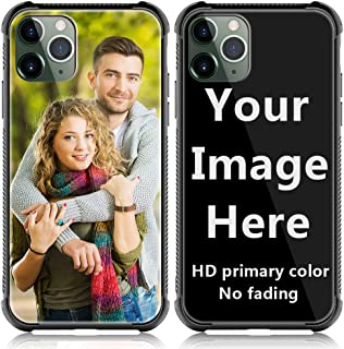 Shumei Custom Case for Apple iPhone 11 Pro Max Glass Cover 6.5 inch Anti-Scratch Soft TPU Personalized Photo Make Your Own Picture Phone Cases