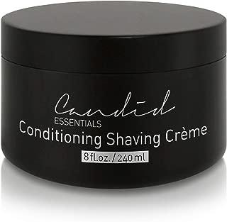 Shaving Cream, Organic & Natural Luxury Crème, 8 fl oz/10 oz net wt, Sensitive Skin Formula, Thick & Rich Skin Care Shave Lotion with Oils, Vitamins & Antioxidants To Moisturize.