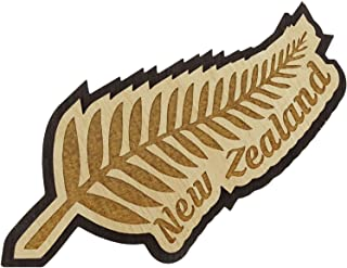 Printtoo New Zealand Souvenir Wooden Engraved Fridge Magnet Collectibles Gift