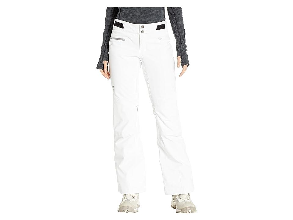 Obermeyer Straight Line Pants (White) Women