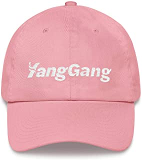 Yang Gang Hat (Embroidered Dad Cap) Support Andrew Yang for President 2020#YangGang