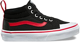 Vans Boy's Racer Mid (Pop) Skateboarding Shoes