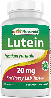 Best Naturals Lutein, 20mg, 120 Softgels