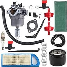 Venseri 794572 Carburetor Tune Up Kit with Air Fuel Filter Spark Plug for Briggs & Stratton 791858 791888 792358 793224 697190 697141 698445 Craftsman LT1000 Lawn Mower