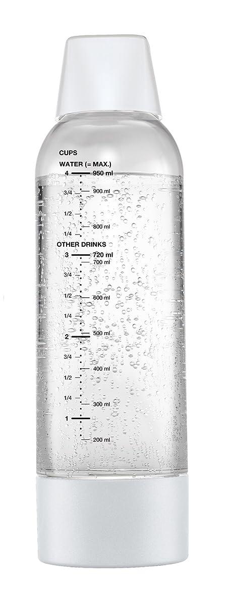 物思いにふける追放する透けて見えるグリーンハウス ツイスパソーダ用 スペアボトル 容量950ml  ホワイト SODAA-BT1W