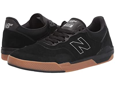 New Balance Numeric 913 (Black/Gum) Men