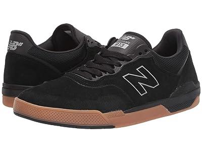 New Balance Numeric 913 (Black/Gum) Skate Shoes