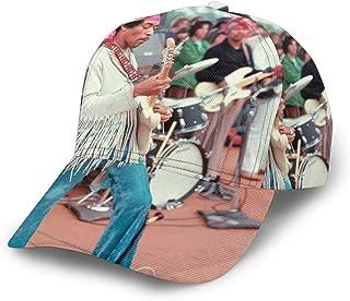 Jimi Hendrix Woodstock Unisex Fashionable Sun Hat,Baseball Cap,Adjustable,Classic Hat