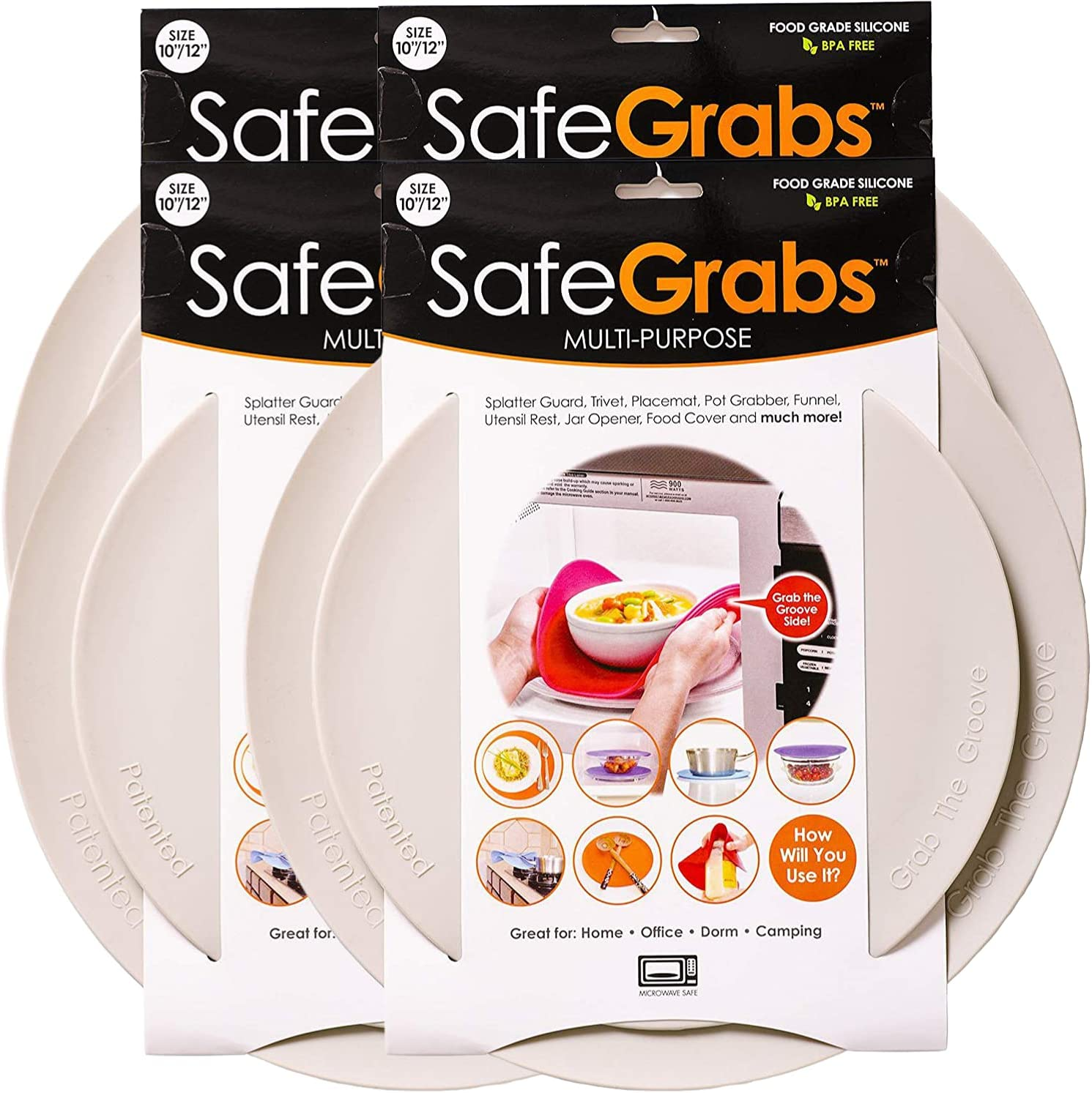 Safe Grabs: Max Max 82% OFF 41% OFF Multi-Purpose Silicone Original Microwave as Mat See