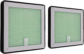 BlitziNet 空気清浄機 交換用フィルター HEPAフィルター 集塵 脱臭 花粉対策 PM2.5対応 二枚セット