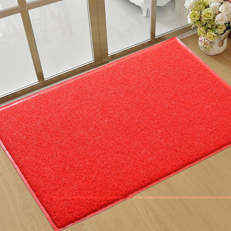 PVC Doormats, Non-Slip Wear-Resistant Durable Mat, Hotel Doorway Carpet, Balcony Bathroom Kitchen Hall-C 80x120cm(31x47inch)