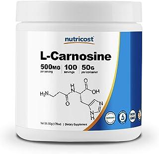 Nutricost L-Carnosine Powder 50 Grams (100 Servings) - Non-GMO