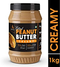 Asitis Nutrition AS-IT-IS Peanut Butter Creamy (Natural and Unsweetened) 1 Kg