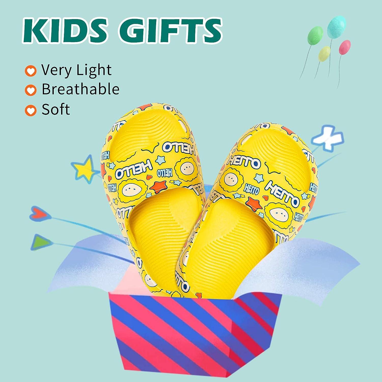 Toddler//Little Kid//Big Kid TUDOUWU Sandals for Girls /& Boys Kids Slippers Water Shoes