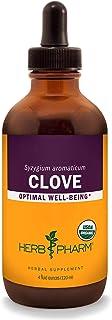 Herb Pharm Certified Organic Clove Liquid Extract - 4 Ounce
