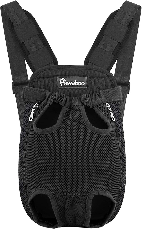 Pawaboo Pet Carrier Backpack Adjustable Cat Dog Max 67% OFF Carri Front Outlet SALE