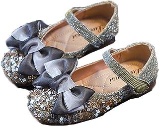 Generic11 Fille Mary Jane Ballerines Confortable Respirant Semelle Souple Casual Princesse Chaussures Enfants De Noce Bowk...