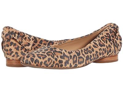 Bernardo Eloise (Sand Cheetah Print Suede) Women