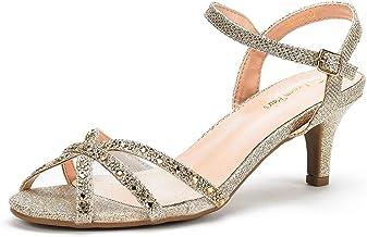 Amazon Com Gold Heel Sandals For Wedding