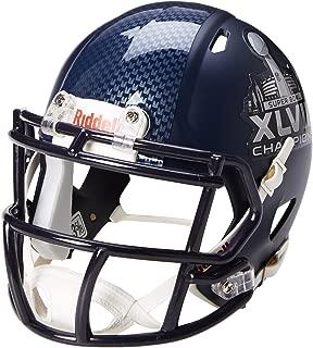 seahawks super bowl mini helmet