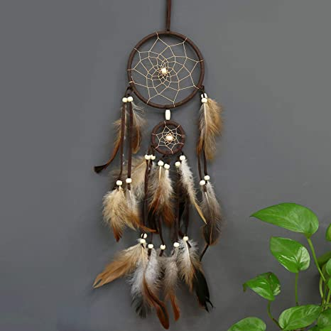 Feather Dream Catcher Car-Wall Home Hanging Handmade Decoration Ornaments