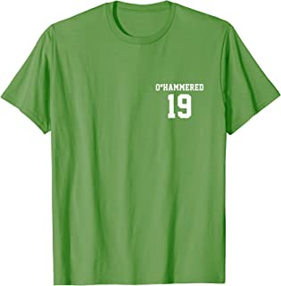 2019 St Patrick's Day O'Hammered Shirt | Front & Back Print