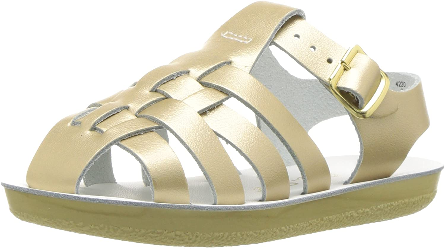 Salt Water Some reservation Award Sandals by Hoy Shoes Girl's Sun-San Baby Sailors I -