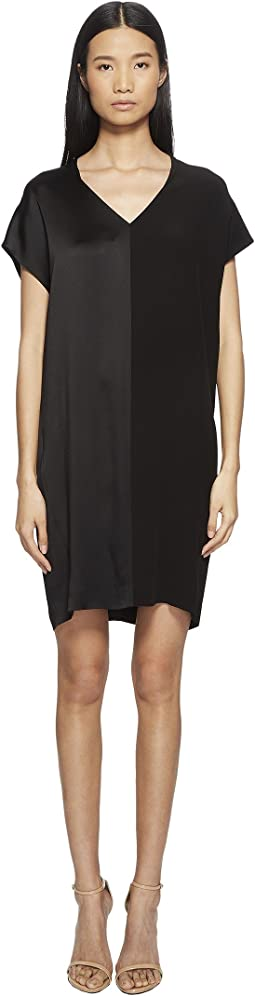 Daflor V Cap Sleeve Dress