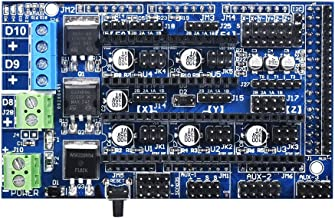 KINGPRINT Ramps 1.6 Expansion Control Panel with Heatsink Upgraded Ramps 1.4/1.5 for 3D Printer Board