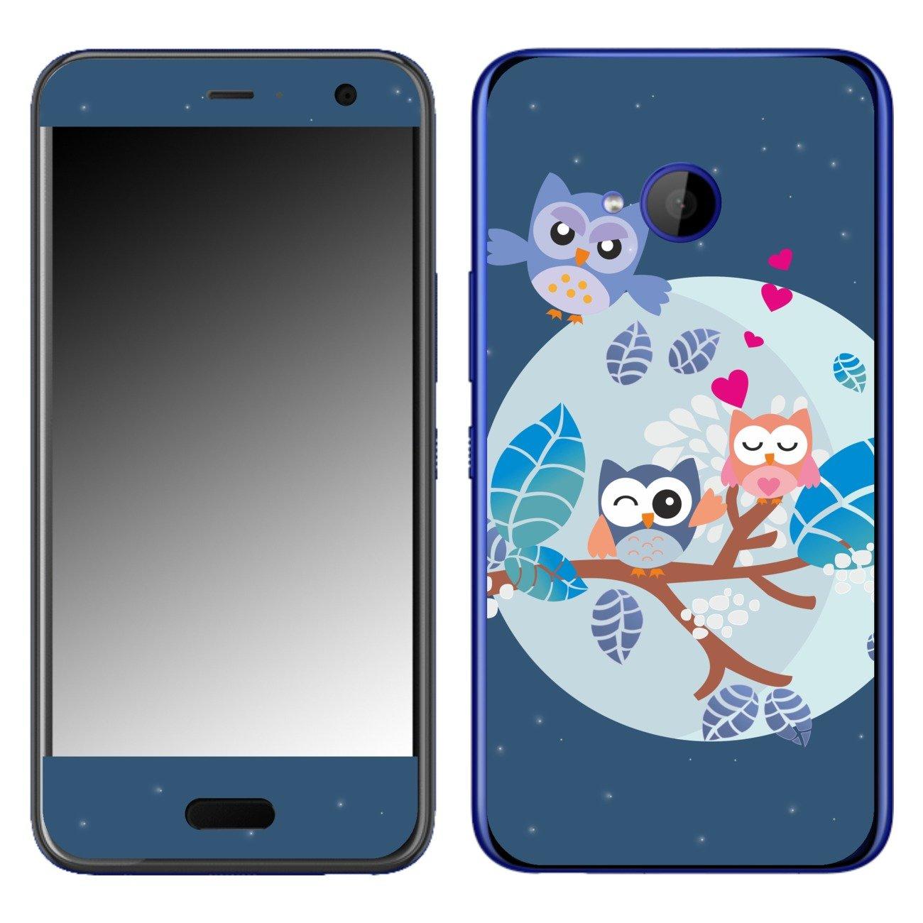 DISAGU SF de 108506 _ 519 Diseño Skin para HTC U11 Life – Diseño Búho Familia: Amazon.es: Electrónica