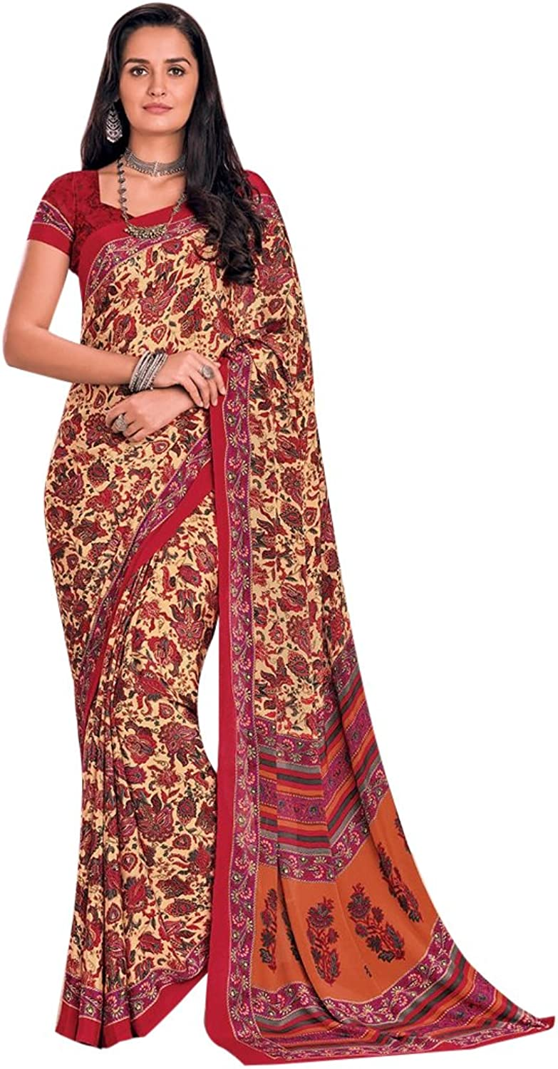 Bollywood Bridal Saree Sari for Women Collection Blouse Wedding Party Wear Ceremony 841 17