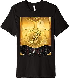 Star Wars C-3PO Halloween Costume Premium T-Shirt