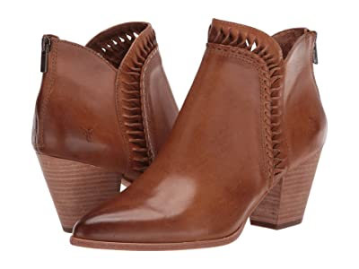 Frye Reed Feather Bootie (Tobacco Vintage Veg Tan) Women