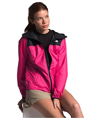 The North Face Cyclone Jacket (Mr. Pink/TNF Black) Women