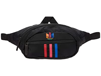 adidas Originals Originals National 3-Stripes Waist Pack (Black/Multi) Bags