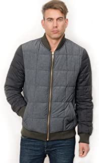 Scotch & Soda Men's Quilted Bomber Jacket
