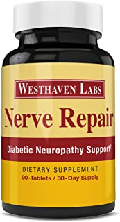 Nerve Repair Neuropathy Pain Relief for Feet & Hands-Sciatic Nerve Pain Relief All-Natural Dietary Suppleme...