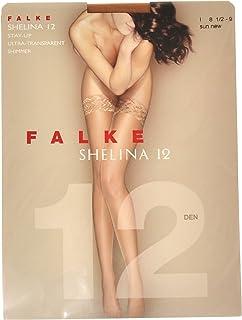 FALKE Feinstrumpf halterlos Shelina 12