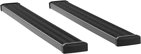 LUVERNE 415078-401723 Grip Step Black Aluminum 78-Inch Truck Running Boards for Select Ford F-250, F-350, F-450, and F-550 Super Duty